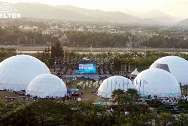 party dome - dome tents - wedding dome - geodesic dome tent - sports dome - igloo tents - Shelter aluminum marquee for sale (2)