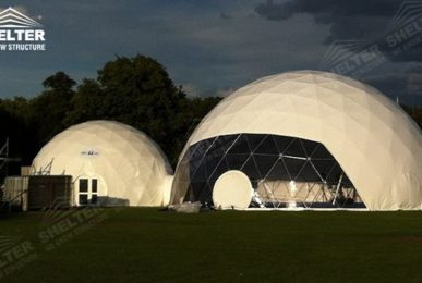dome tents - wedding dome - geodesic dome tent - sports dome - igloo tents - Shelter aluminum marquee for sale (13)
